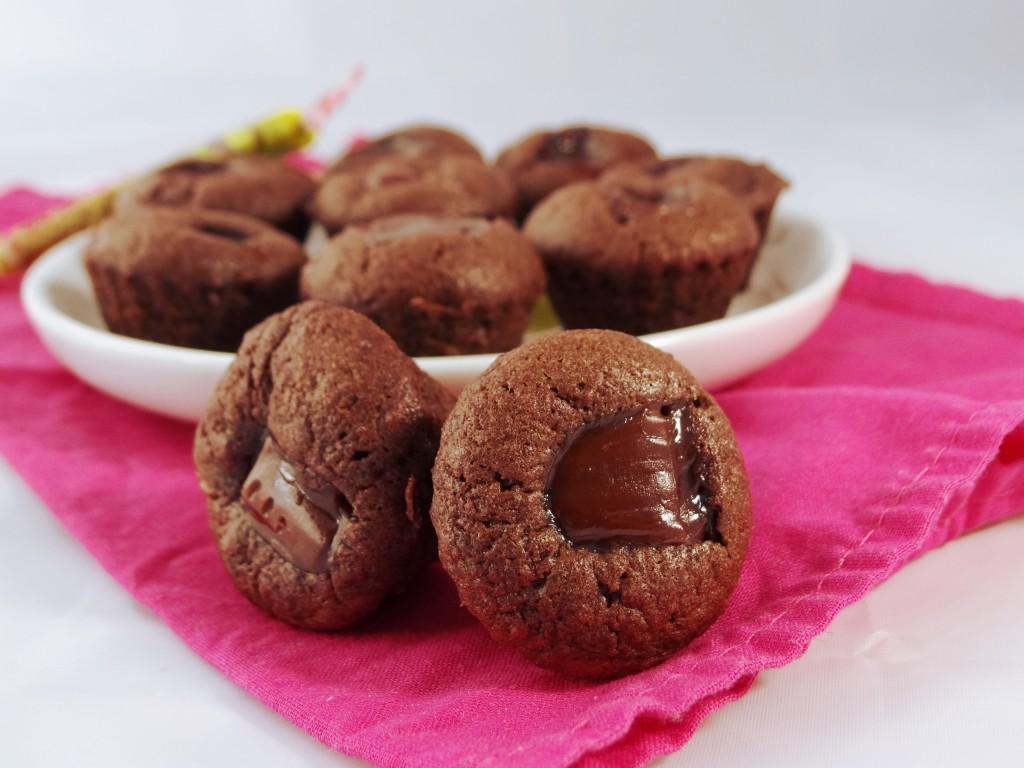 muffin chococarambar