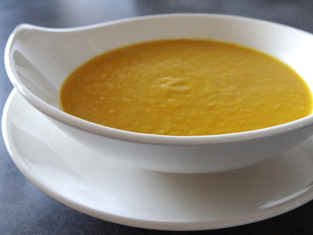 Velout thermomix de carottes artichauts au miel et au gingembre little muffins - Soupe de brocolis thermomix ...