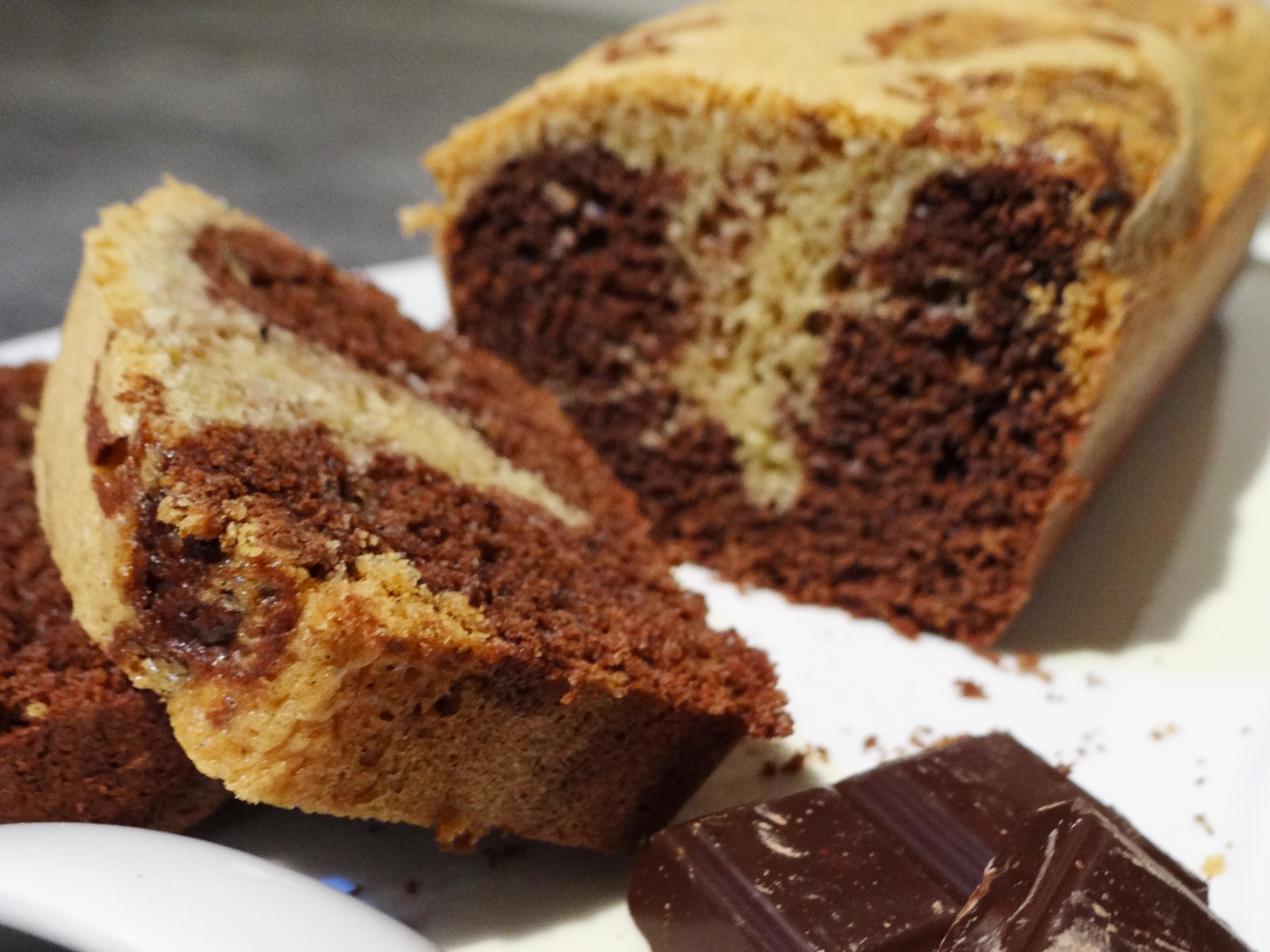 Cake Marbr Ef Bf Bd Rapide Sans Beurre