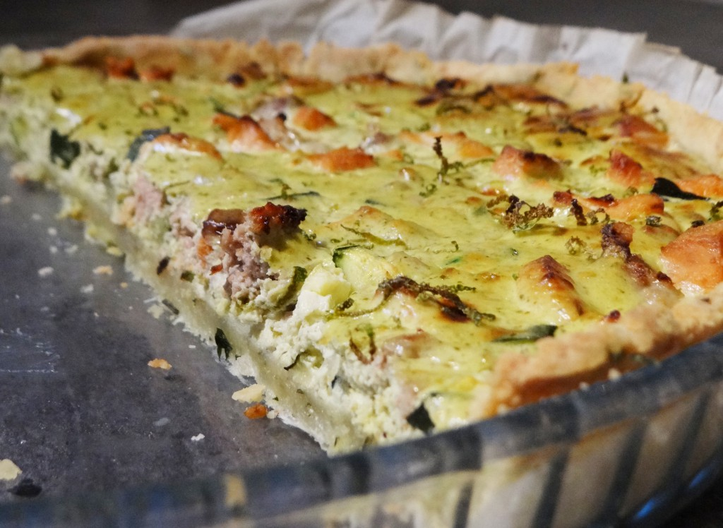 tarte saumon pesto 2