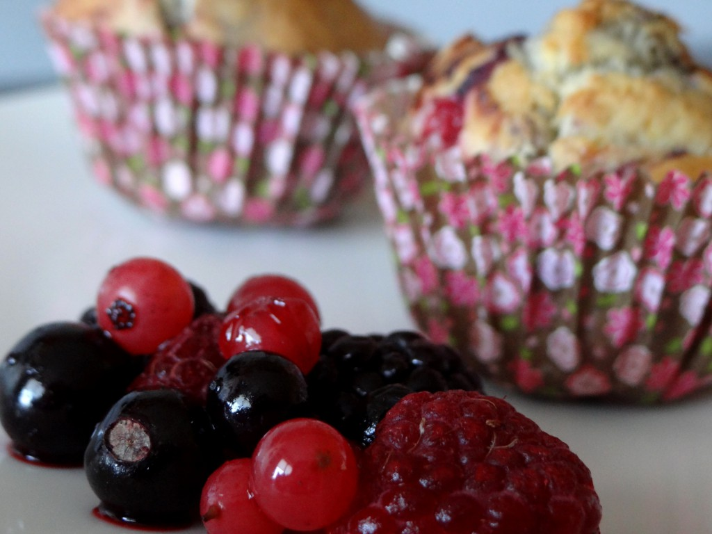 muffins fruits rouges3